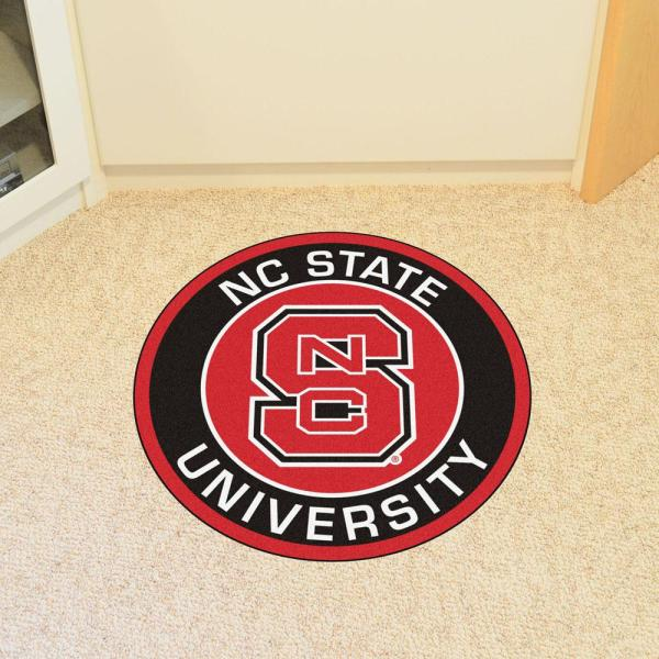 Team Color FANMATS NCAA North Carolina State Wolfpack Universityfootball Field Runner One Size
