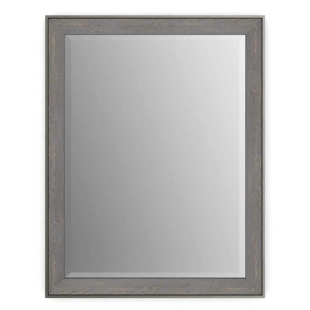 28 in. x 36 in. (M1) Rectangular Framed Mirror with Deluxe
