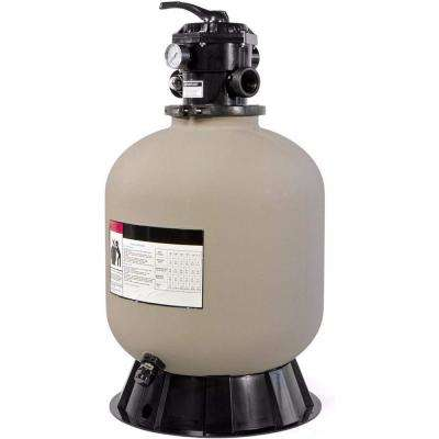 19 in. Swimming Pool Sand Filter System with 7-Way Valve for In-Ground Pools, 1.93 sq. ft. Filtration Area