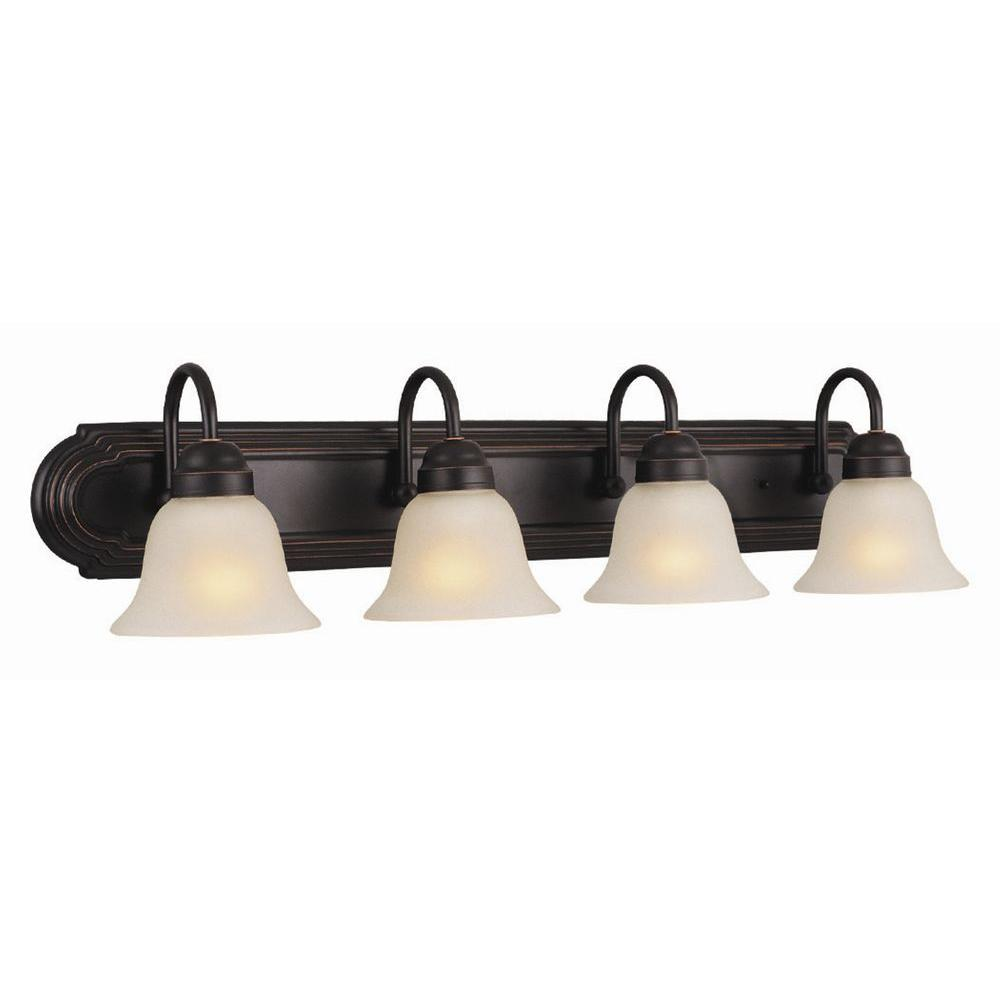 Design House Allante 4 Light Oil Rubbed Bronze Bath