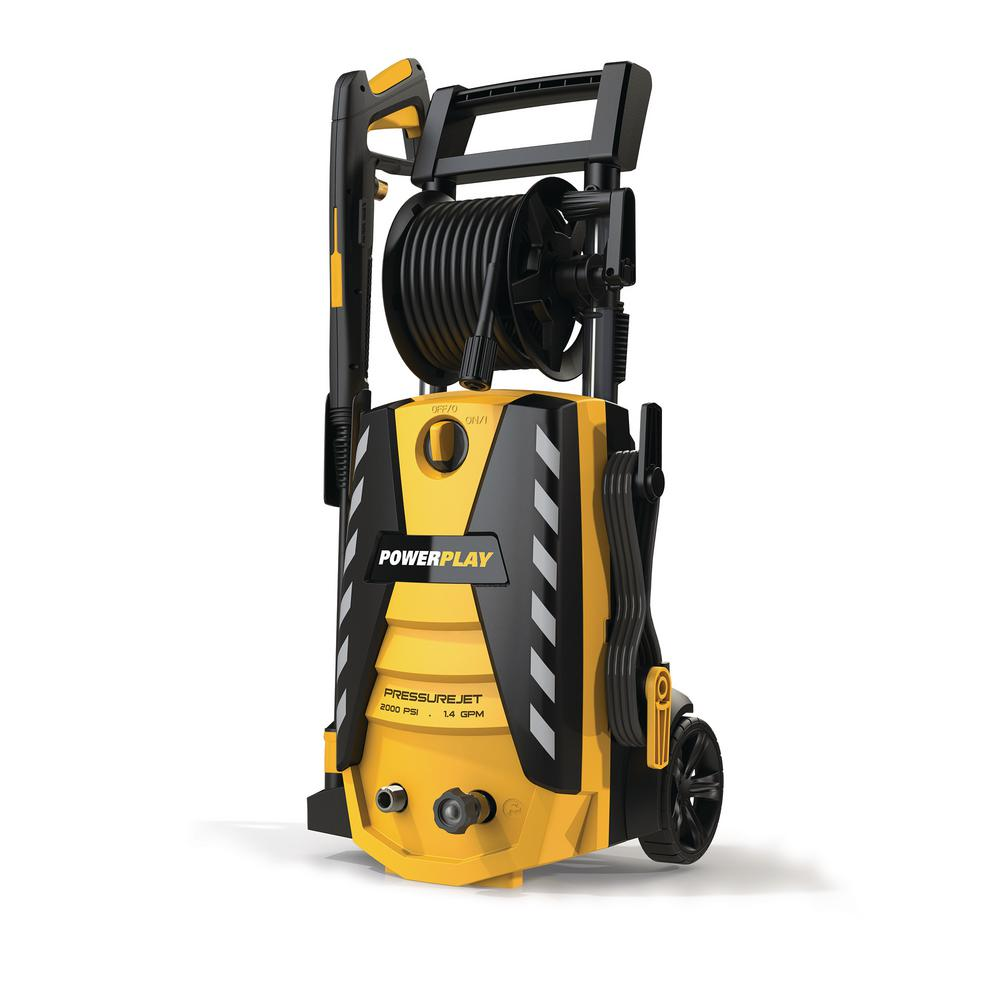PressureJet 2000 PSI 1.4 GPM Electric Pressure Washer