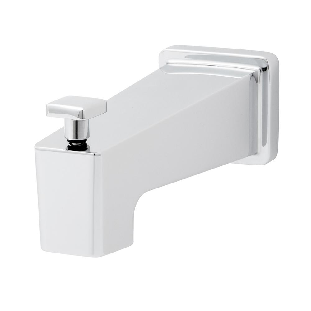 Speakman Kubos 5.75 in. Bathroom Tub Spout with Diverter in Polished Chrome