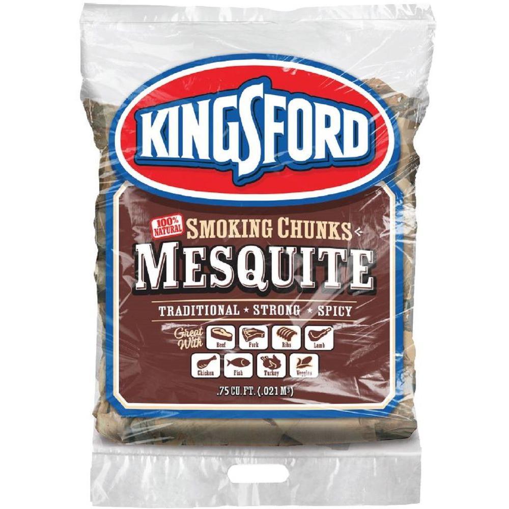 0.75 cu. ft. BBQ Mesquite Wood Chunks