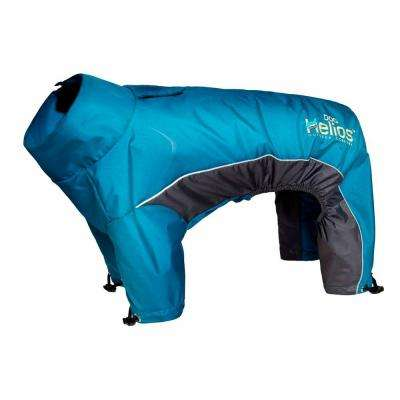 Large Blue Blizzard Full-Bodied Adjustable and 3M Reflective Dog Jacket