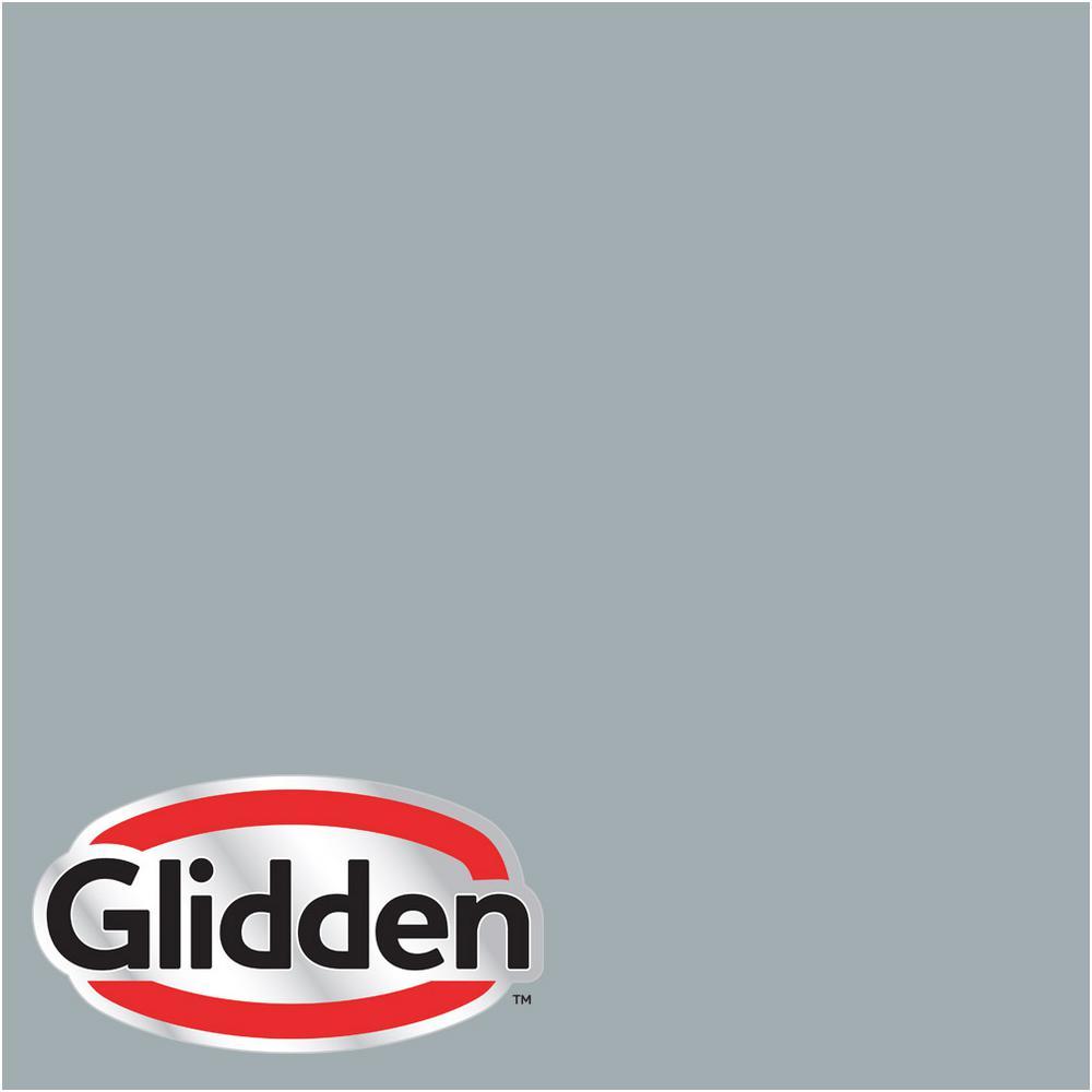 Glidden Premium 5 gal. #HDGCN33 Winter Sky Grey Satin Interior Paint with Primer