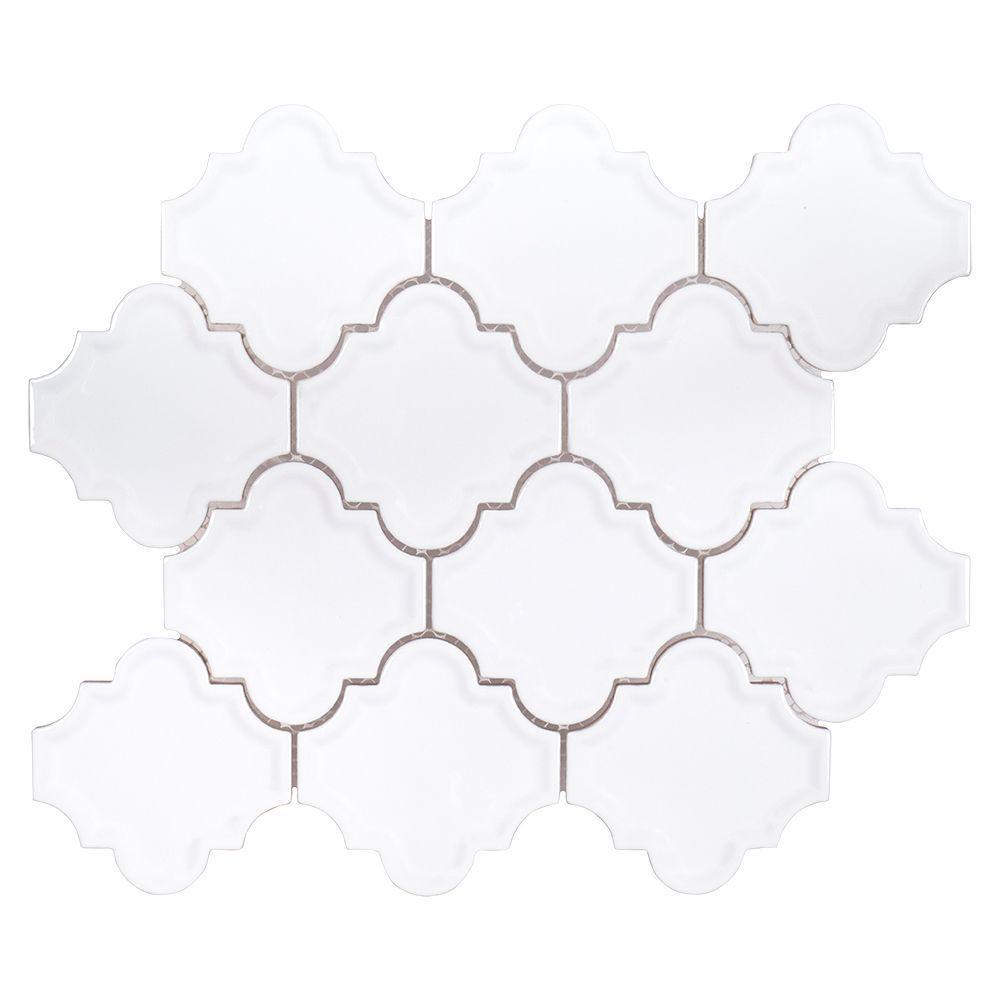 Marrakech 9-3/8 in. x 12-1/4 in. x 8 mm Ceramic Mosaic Tile