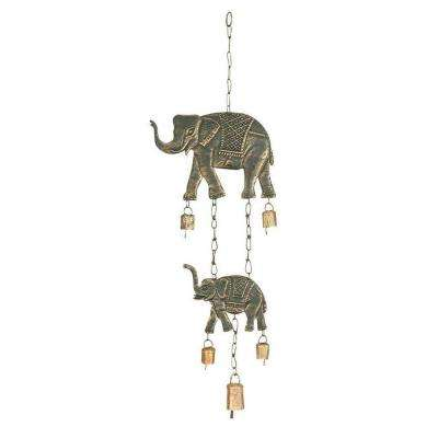 28 in. H x 10 in. W Metal Wind Chime