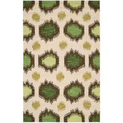 Siam Ivory 3 ft. 6 in. x 5 ft. 6 in. Area Rug