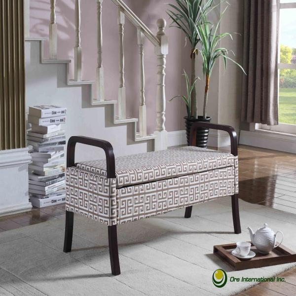 Fantastic Osp Home Furnishings Sage Coventry Storage Bench Cvn371 Asg Theyellowbook Wood Chair Design Ideas Theyellowbookinfo