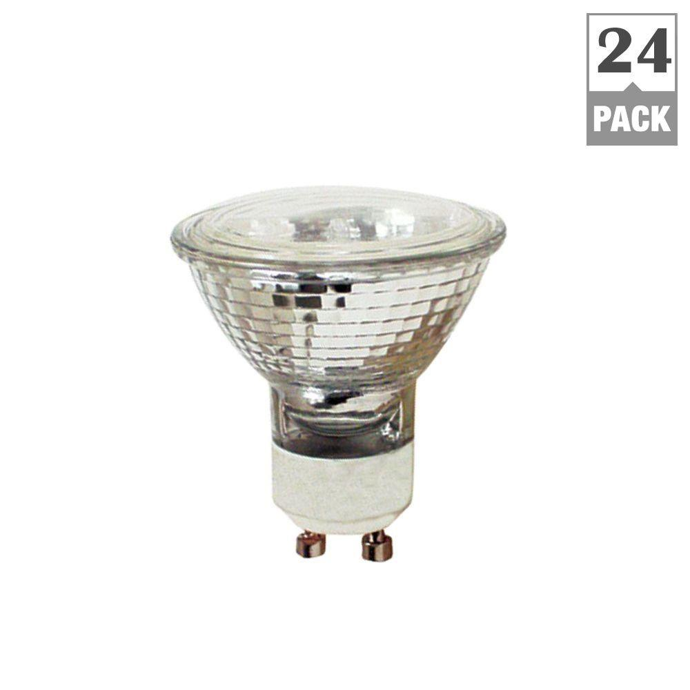 Feit Electric 50-Watt Halogen MR16 GU10 Base Light Bulb (24-Pack)