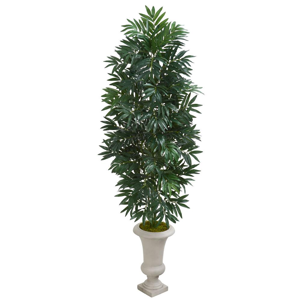 Nearly Natural Indoor 5 5 Ft Bamboo Palm Artificial Plant