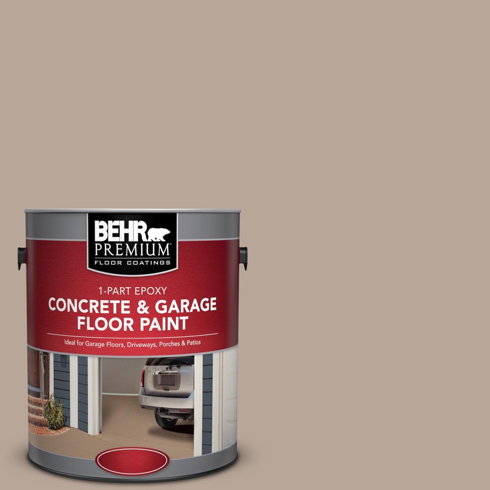 1 gal. #BXC-43 Desert Sandstorm 1-Part Epoxy Satin Interior/Exterior Concrete and Garage Floor Paint