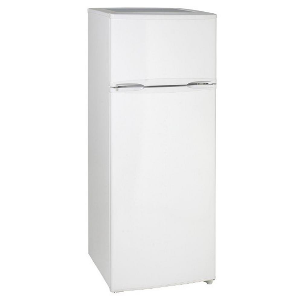 Avanti 7.4 cu. ft. Apartment Size Top Freezer Refrigerator in White ...