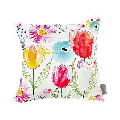 Tulip Mutlicolor Decorative Pillow
