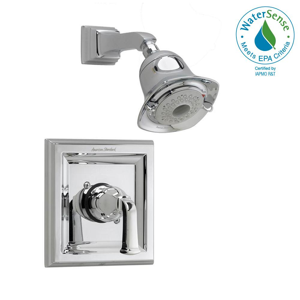 Town Square 1-Handle Shower Faucet Trim Kit in Polished Chrome (Valve