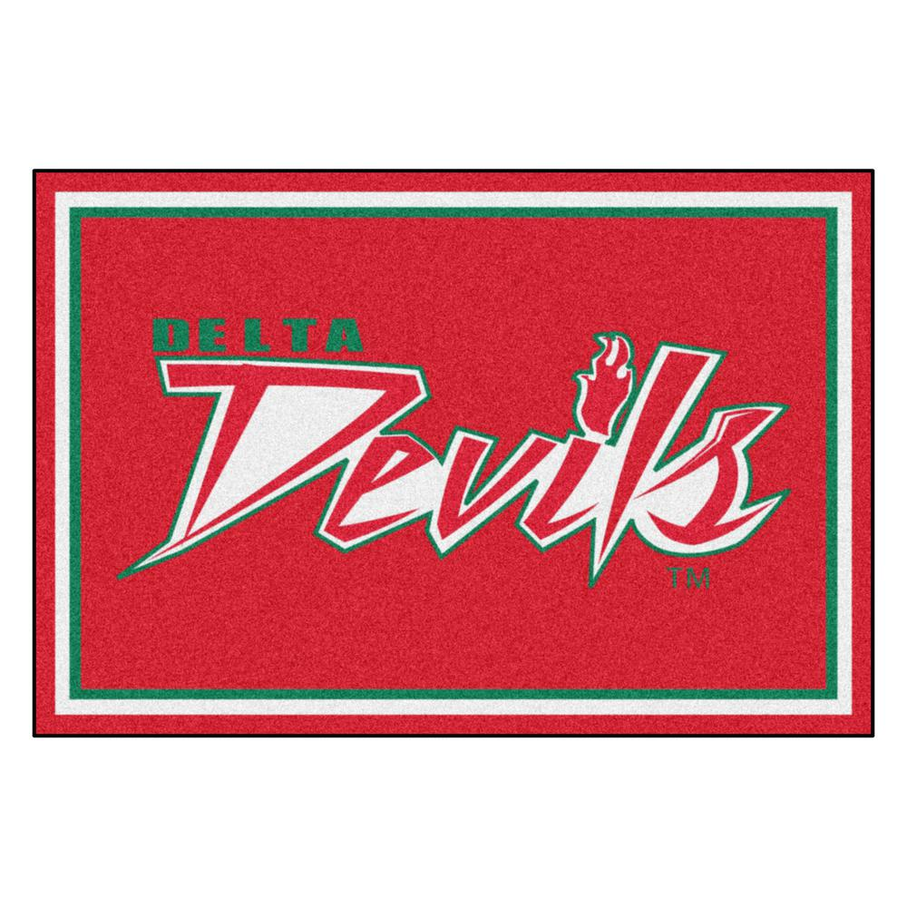 NCAA - Mississippi Valley State University Red 8 ft. x 5