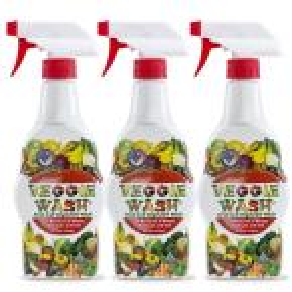 16 oz. All Natural Fruit and Vegetable Wash Sprayer (3-Pack)