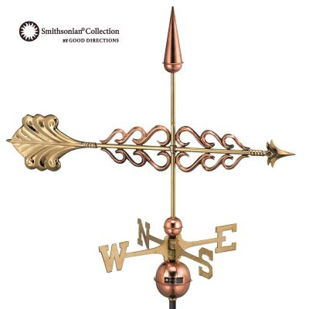 Smithsonian Arrow Weathervane - Pure Copper
