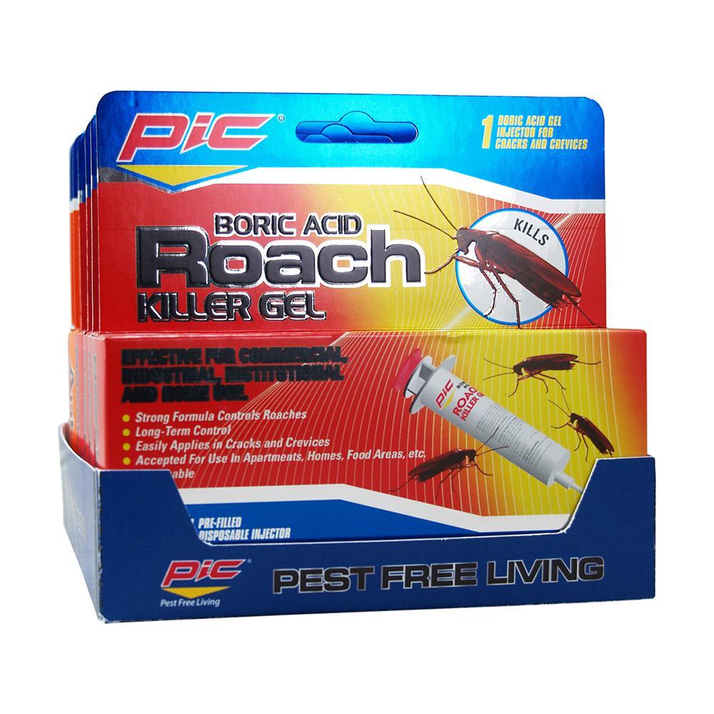 Roach Control Gel Syringe (30-Grams/Case) (Total Number of Syringes - 12)
