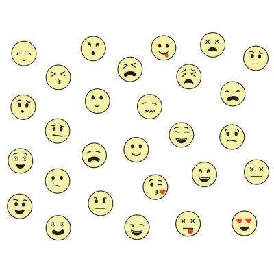Mixed Emotions Glow in the Dark Wall Art Kit Wall Decals