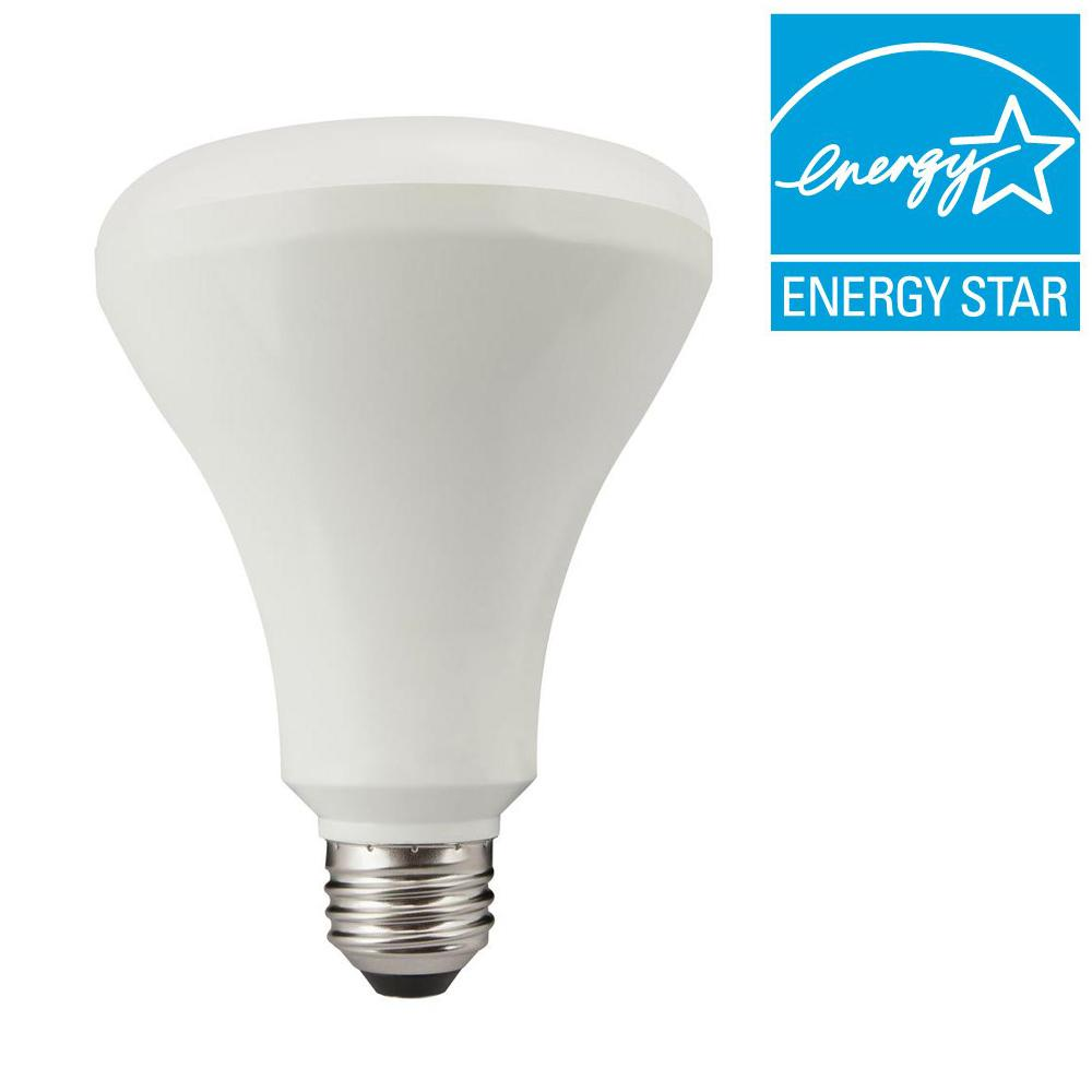 TCP 65W Equivalent Soft White BR30 Dimmable LED Light Bulb ...