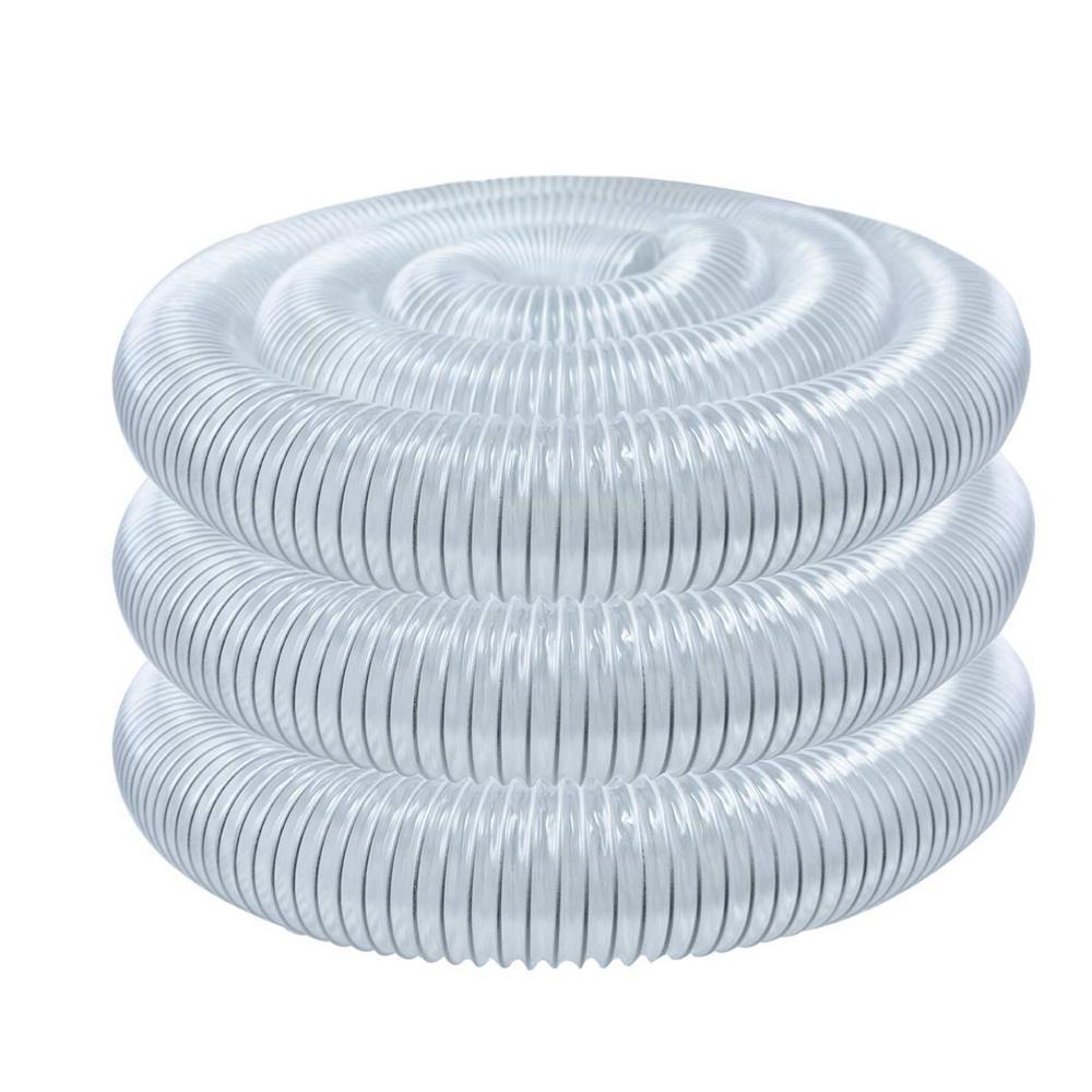 MADE IN USA! 4 x 20 Ultra-Flex Clear Vue PVC Hose