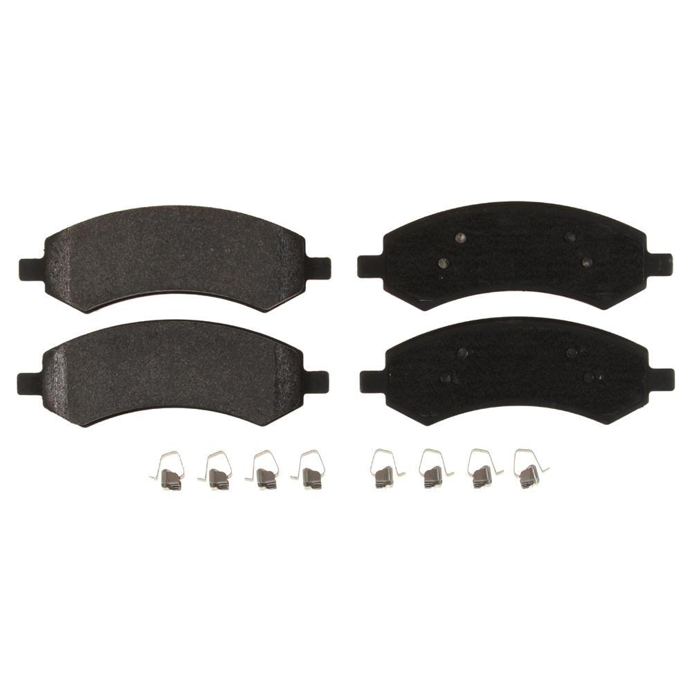 Fleet Metlok Semi-Metallic SDR Disc Brake Pad - Front