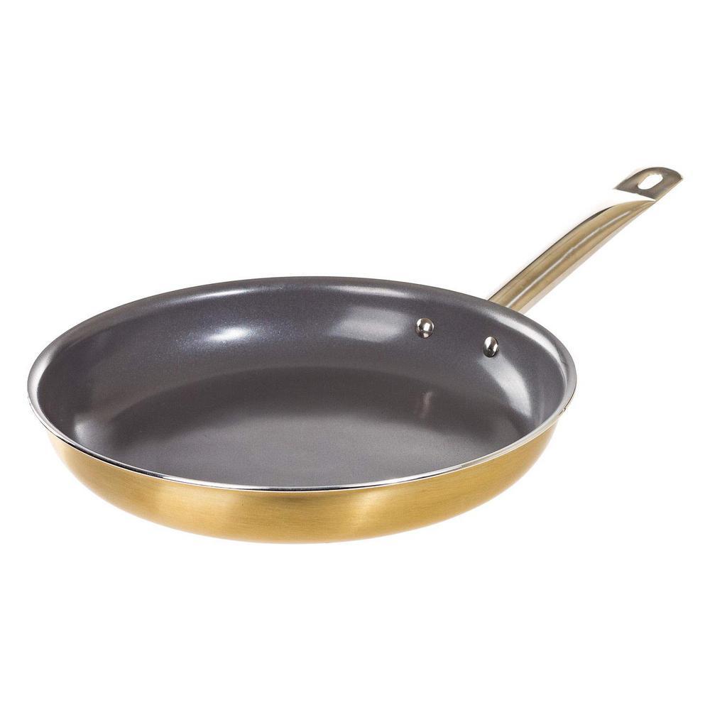 5pc Ceramic Coated Non Stick Die-Cast Casserole Set INDUCTION Cookware T BLUE SH