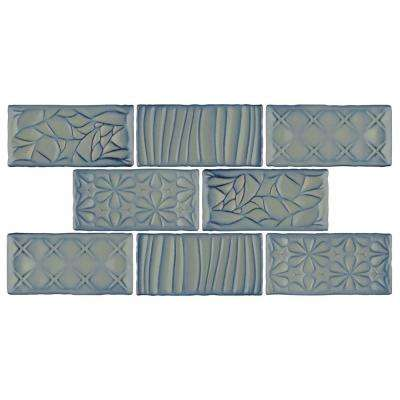 Antic Sensations Griggio 3 in. x 6 in. Ceramic Wall Subway Tile (1 sq. ft. / pack)