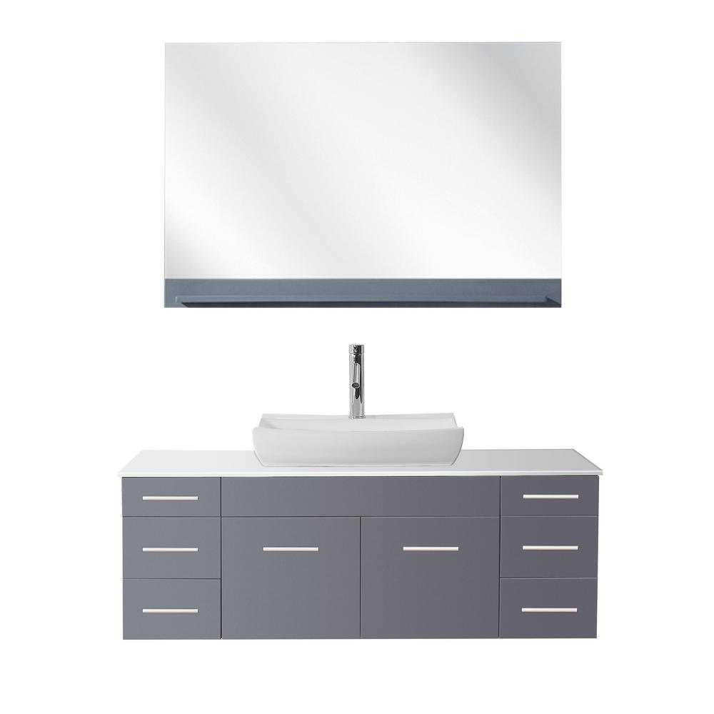 Midori 35x19 single sink bathroom vanity in gloss white on sale online - Biagio