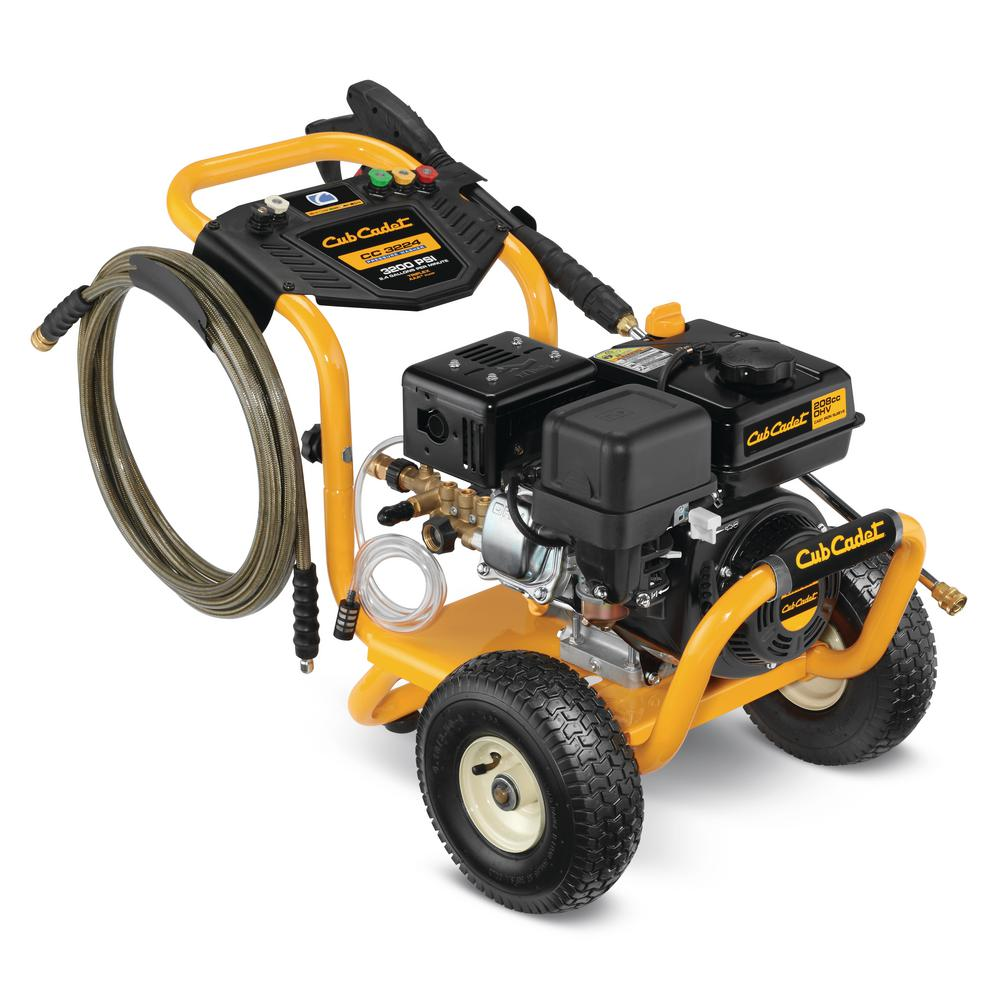 3200-PSI 2.4-GPM AAA Triplex Pump Gas Pressure Washer