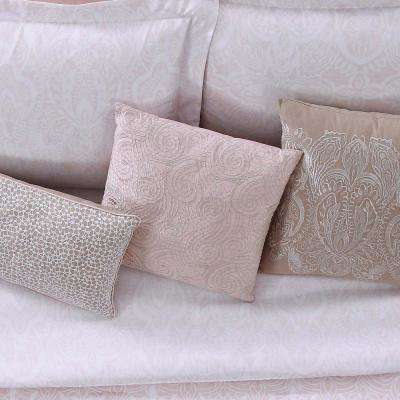 Ombre Lace Pink 16 in. Square Pillow