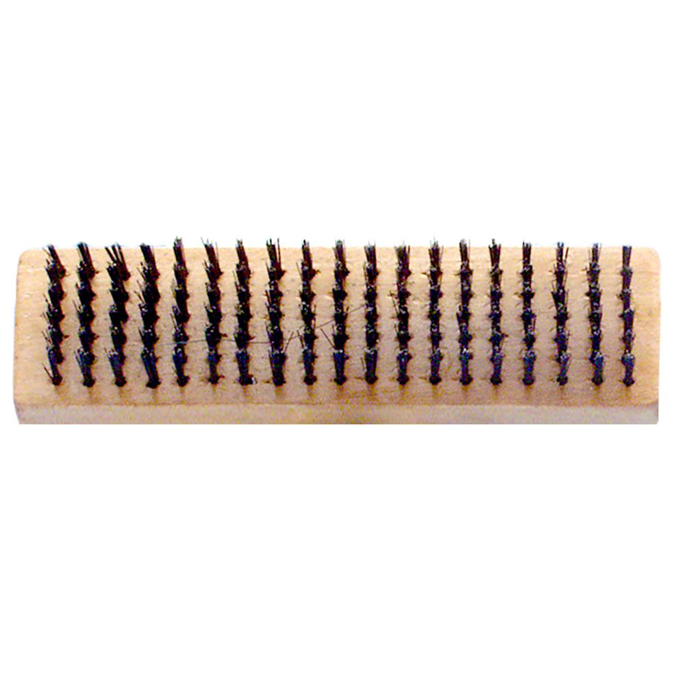 PREMIER 6 x 19 Butcher Block Wire Brush (12-Pack)-H619 - The Home Depot