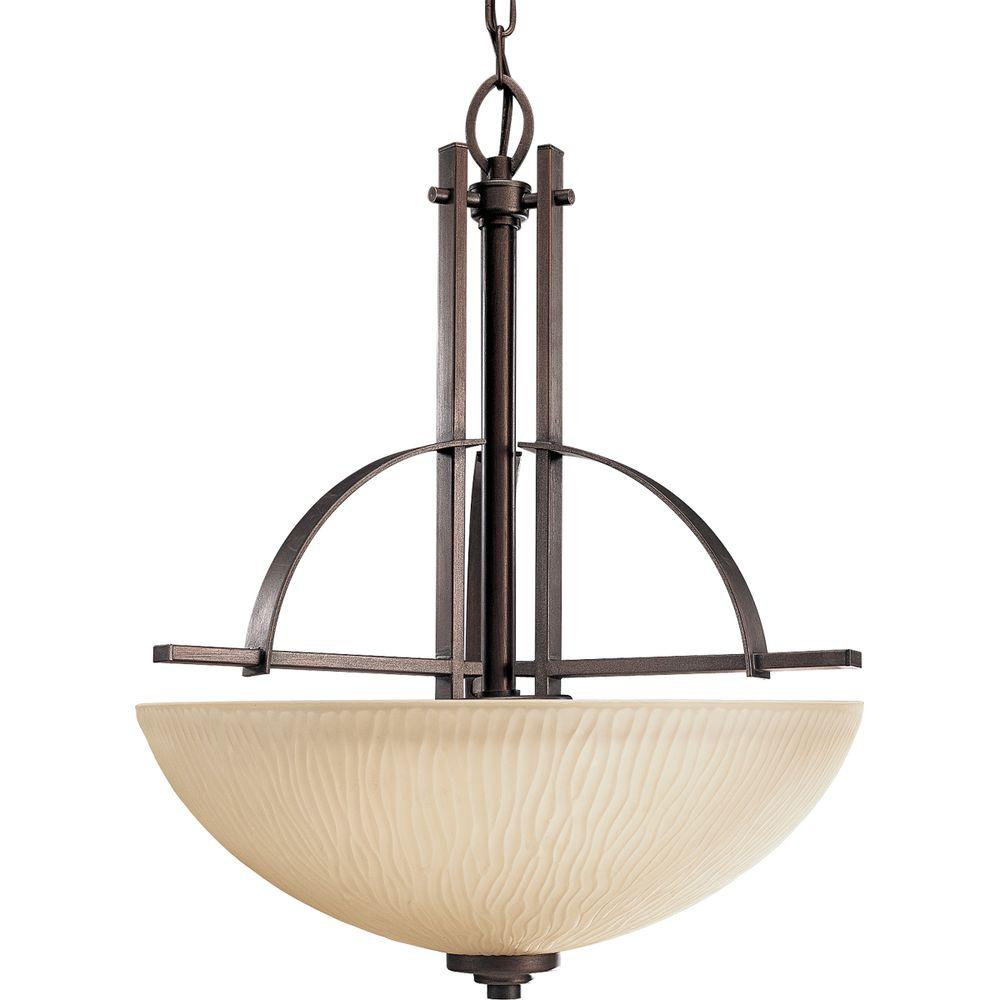 Progress Lighting Riverside Collection 3-Light Heirloom Foyer Pendant