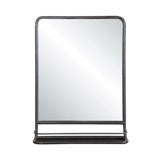 Mason Black Framed Mirror