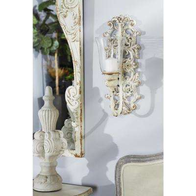 Distressed White Wall Accents Wall Decor The Home Depot