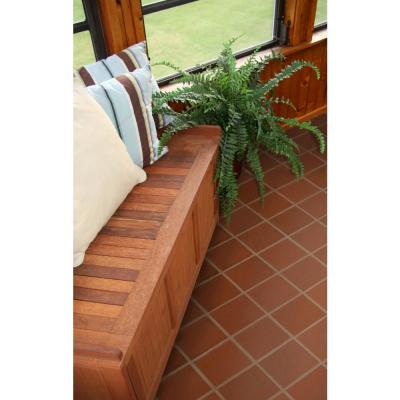 Red Quarry Cove Base 6 in. x 6 in. Ceramic Floor and Wall Tile (3.5 sq. ft. / case)