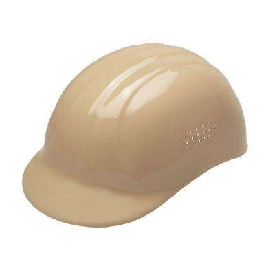 4-Point Plastic Suspension Pin-Lock 67 Bump Cap in Beige