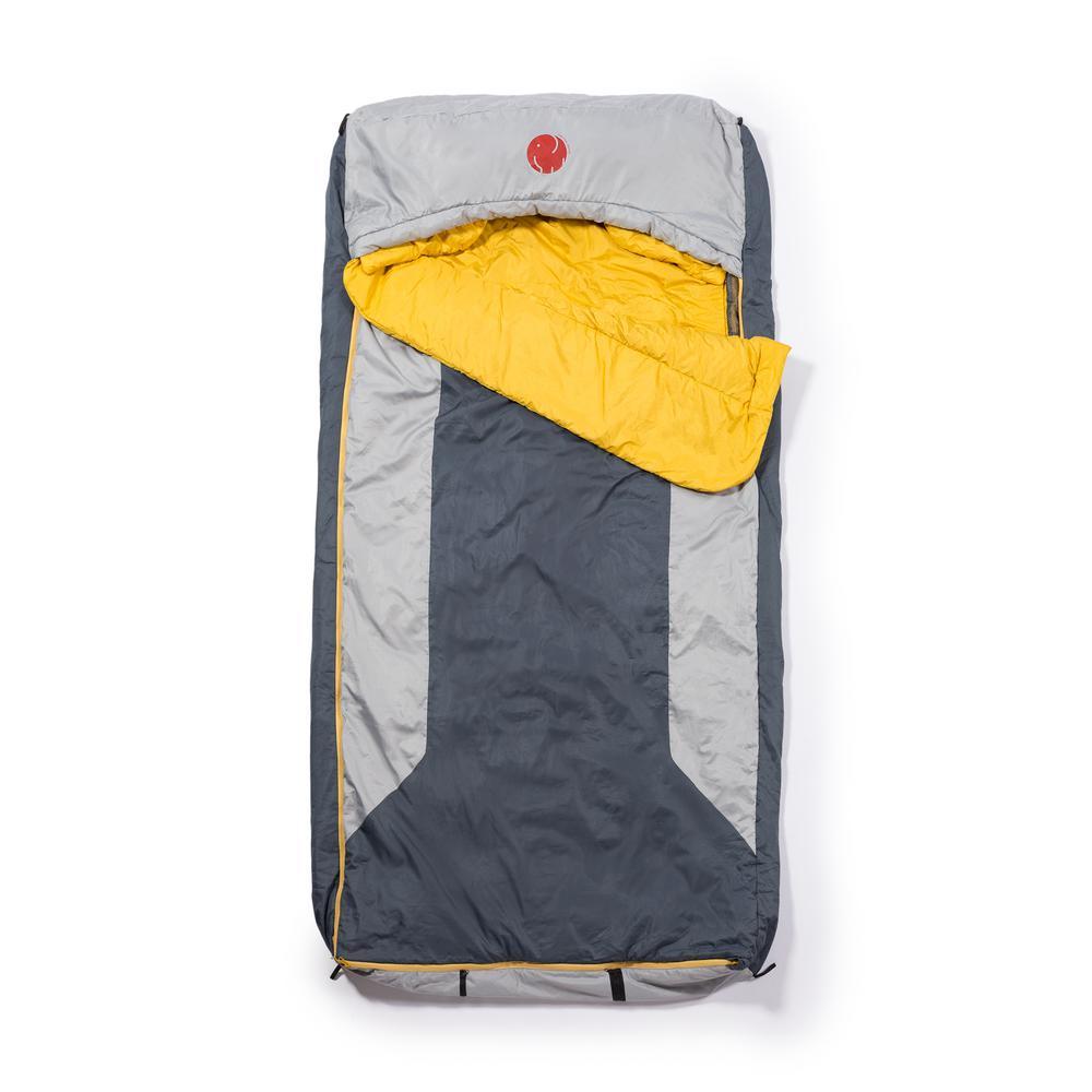 M-3D 30°F /-1.1℃ Multi-Down Hooded Rectangular Sleeping Bag (Reg)