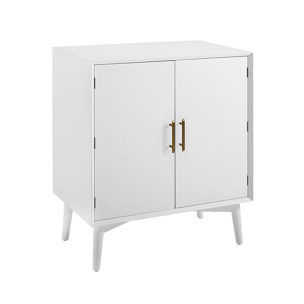 Landon White Bar Cabinet