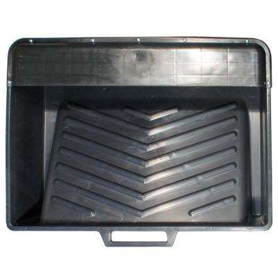 18 in. Plastic Deep-Well Tank Paint Roller Tray
