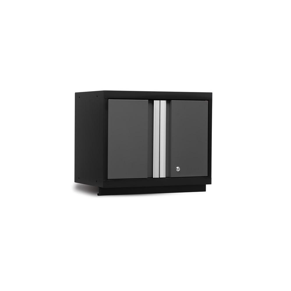 NewAge Products Bold Series 3.0 24 in. W x 18 in. H x 12 in. D 24-Gauge Steel Wall Cabinet in Gray