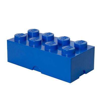 Bright Blue Stackable Box