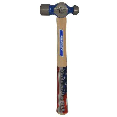 16 oz. Ball-Peen Hammer with 13.75 in. Hickory Handle