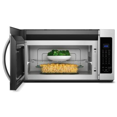 1.9 cu. ft. Over the Range Microwave in Fingerprint Resistant Stainless Steel with Sensor Cooking