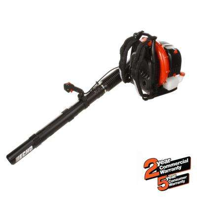 234 MPH 765 CFM 63.3cc Gas 2-Stroke Cycle Backpack Leaf Blower with Tube Throttle