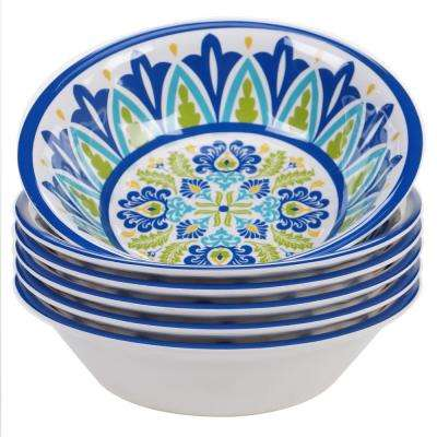 Martinique Multicolor All Purpose Bowl (Set of 6)