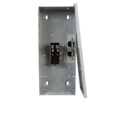 125 Amp 2-Space 4-Circuit Main Lug Load Center