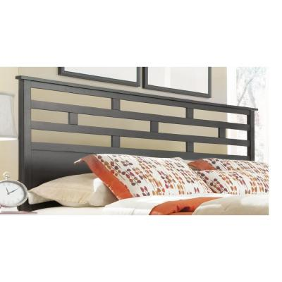 Athena Dark Chocolate Queen Panel Headboard