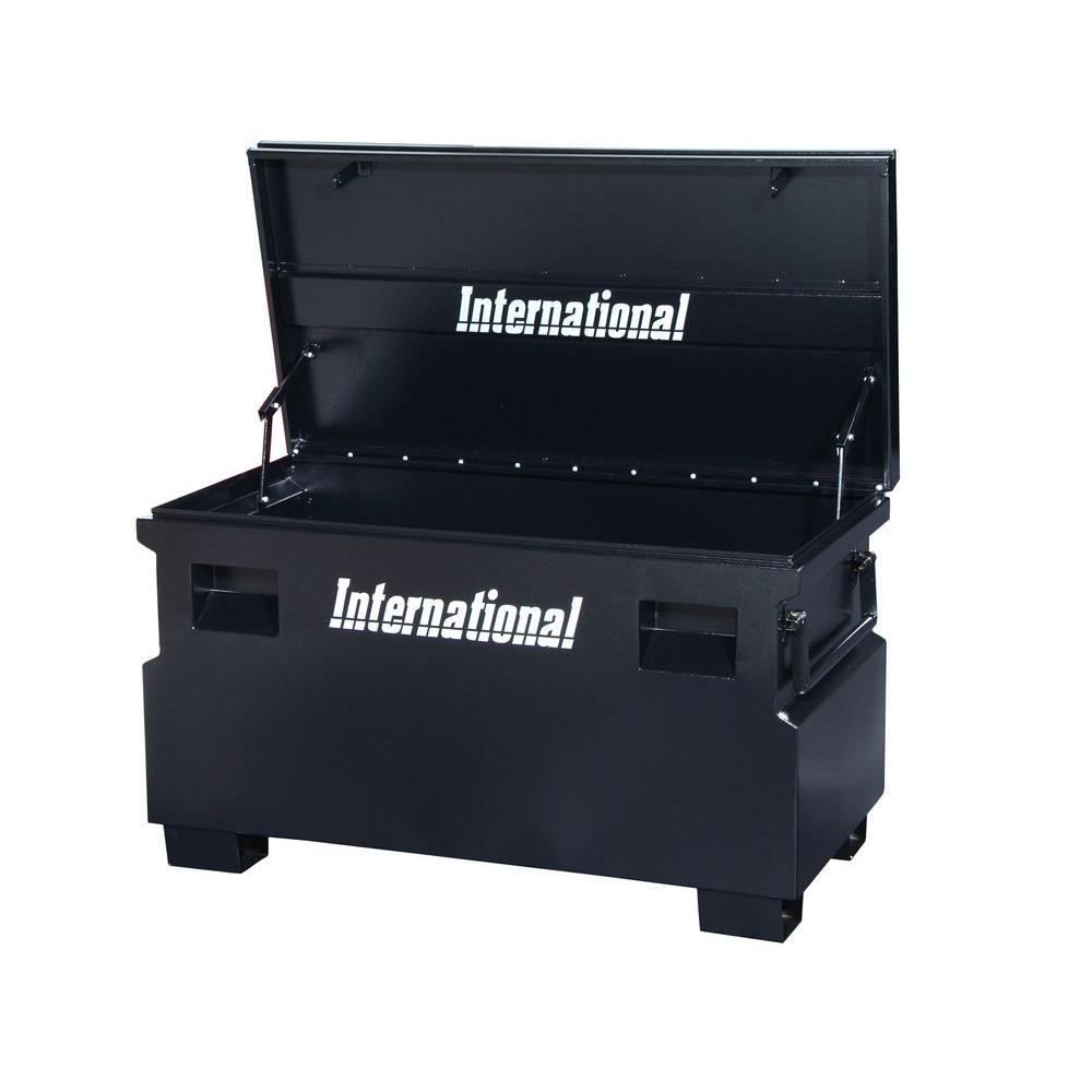 International 48 in. Jobsite Box, Black